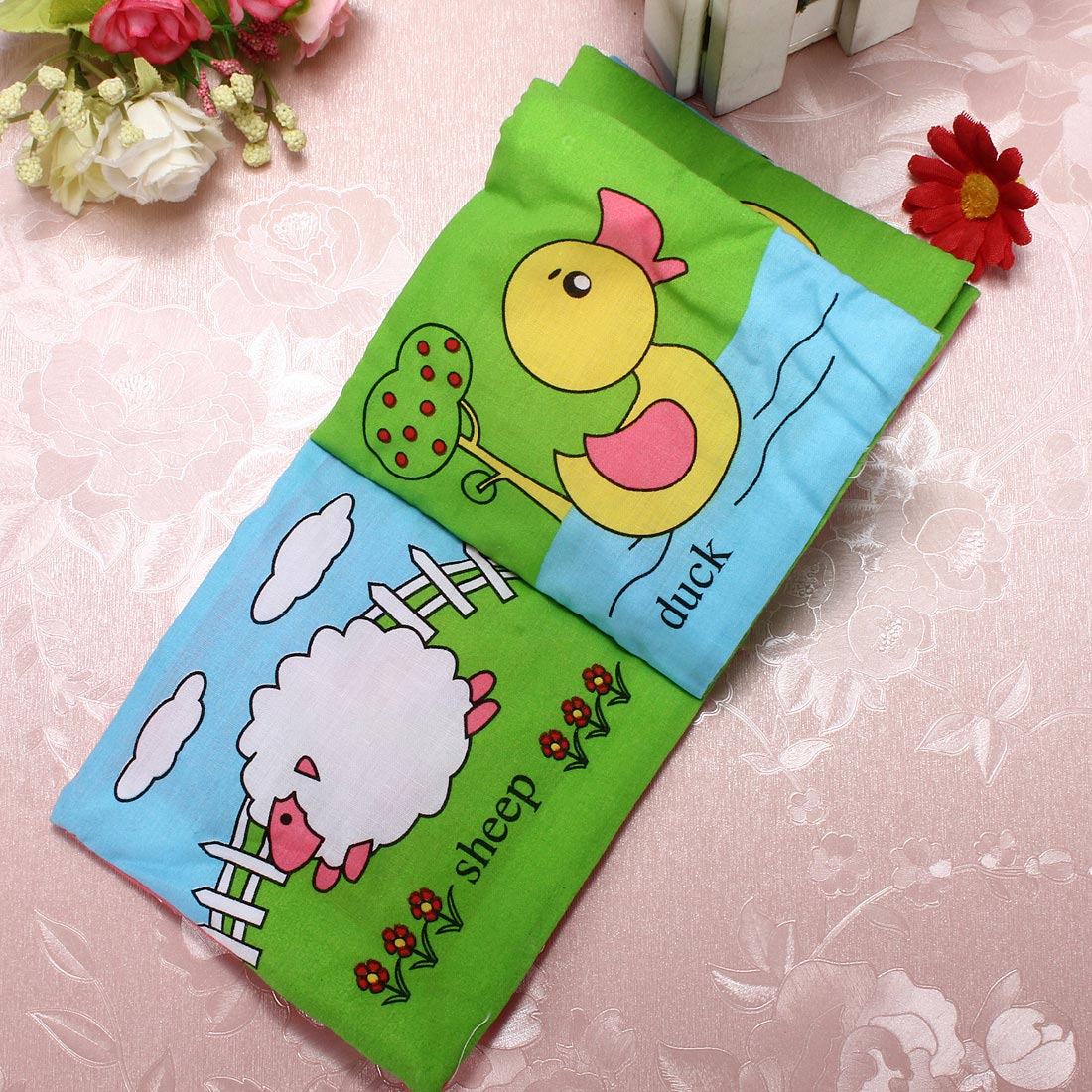 Fabric Book Covers Canada ~ Buy colors soft baby child picture hand intelligence