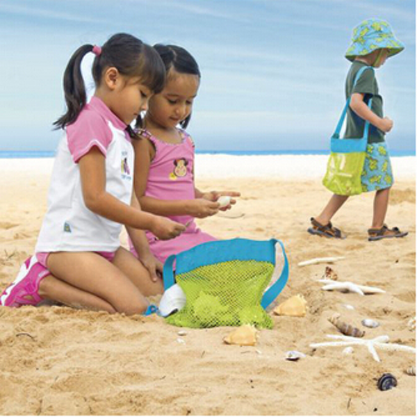 Buy children kids portable bag beach shell tool toy pouch for Childrens gardening tools new zealand