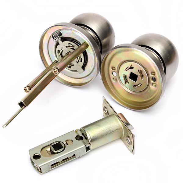 Buy Bathroom Door Lock Stainless Steel Cylinder Round Knob
