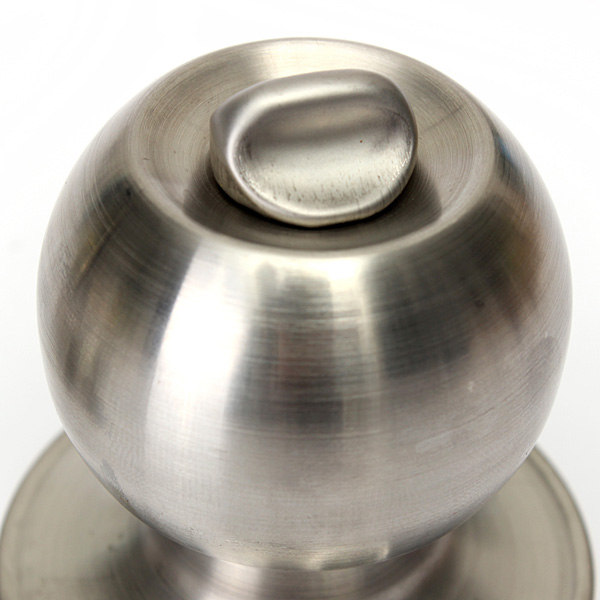 Buy Bathroom Door Lock Stainless Steel Cylinder Round Knob