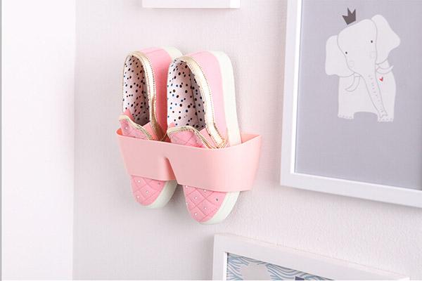 g nstig kaufen kreative h ngen schuhregal wand h ngen. Black Bedroom Furniture Sets. Home Design Ideas