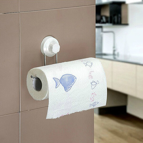 Buy Multifunctional Sucker Paper Towel Rack Bathroom Roll