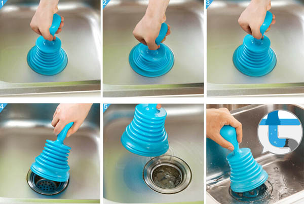 how to stop suction in sewer pipes