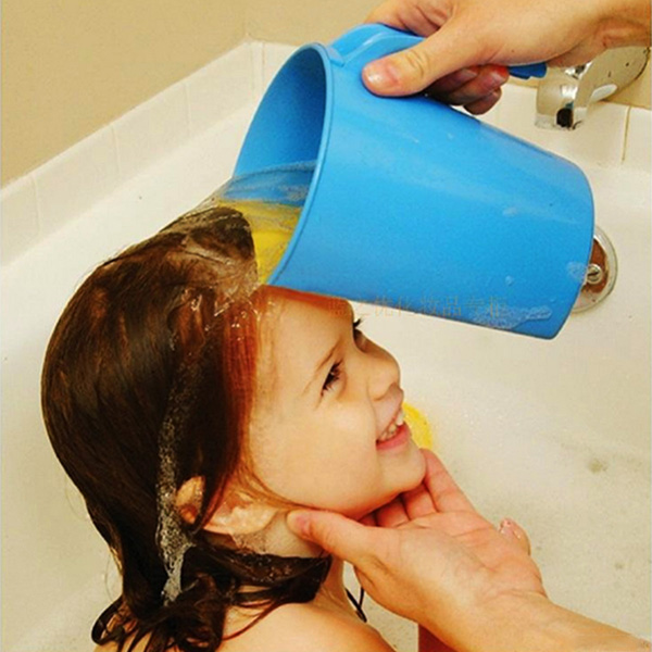 Buy Plastic Baby Kids Child Shampoo Rinser Shower Cup Bath