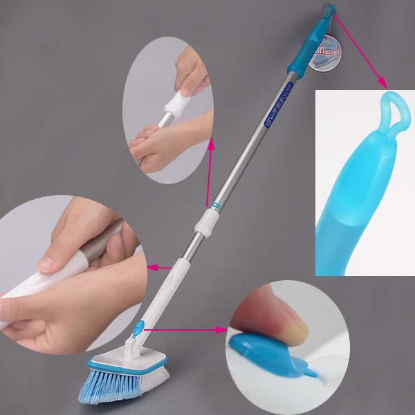 Bathroom cleaning brush