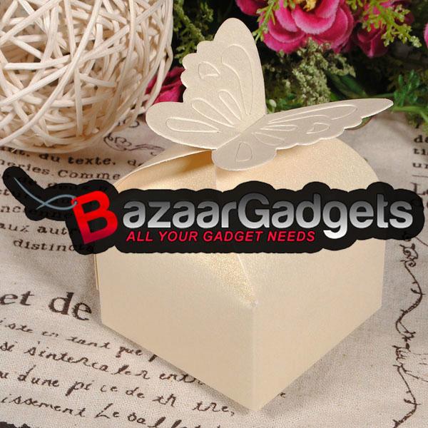 G Nstig Kaufen Schmetterlings Muster Hochzeitsfest Geschenk Pralinenschachtel Online