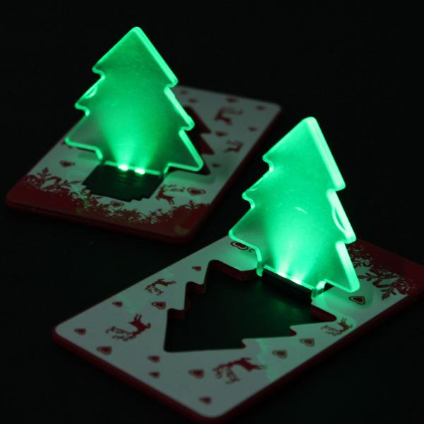 Buy Folding Pocket Card LED Night Light Bulb Christmas ...