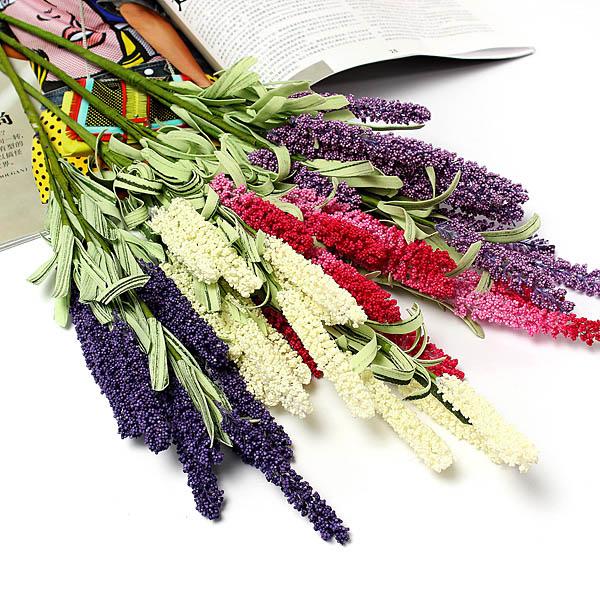 K P 4 F Rger Konstgjorda Lavendel Blomma Home Party Br Llop Dekoration