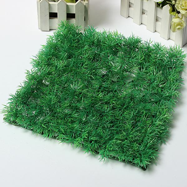 Buy Artificial Dense Green Lawn Garden Decor Plant Grass