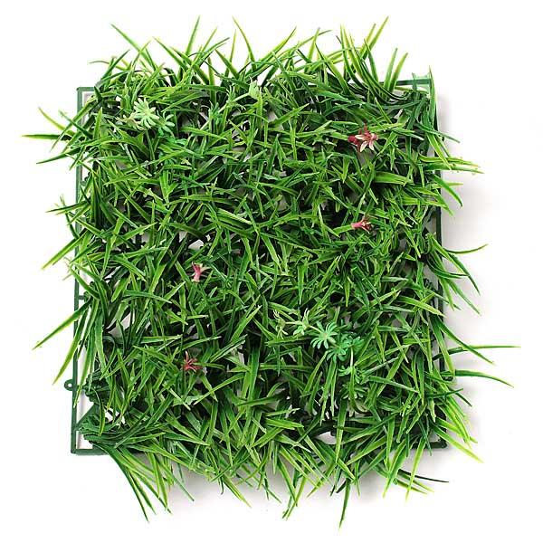 ... Green Grass Plastic Lawn Hage Dekor På nett!  BazaarGadgets.com