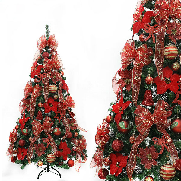 Buy christmas red ball string decoration xmas tree pendant for Where can i buy a red christmas tree