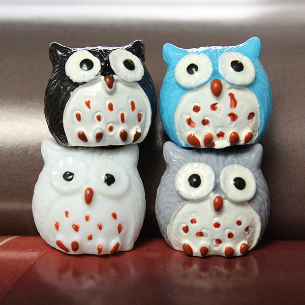 Køb DIY Landskab Farverige Minni Craft Owl Potteplante ...