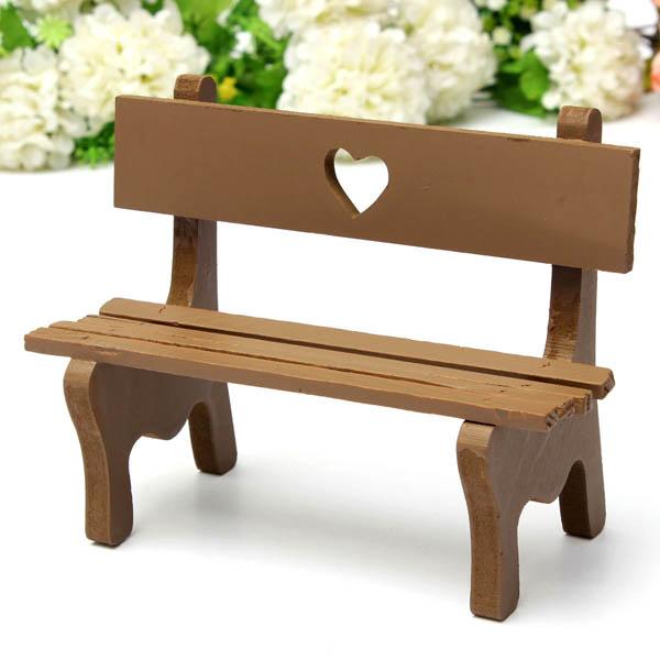 Buy Mini Resin Bench Micro Landscape Decorations Garden Diy Decor