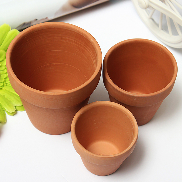 Buy Red Ceramics Terracotta Flower Pot Clay For Small