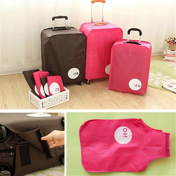 Buy 28 Quot Dust Proof Travel Luggage Protection Cover Trolley Suitcase Bag Bazaargadgets Com