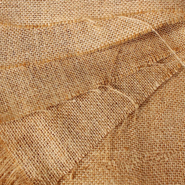 Buy 50x50cm natural jute burlap hessian fabric diy craft for What is burlap material