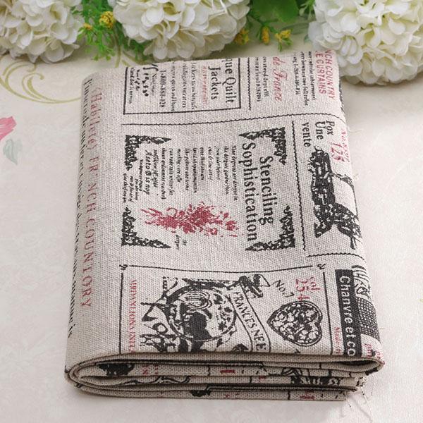 Cartoon Linen Cotton Boy Bedroom Curtains Embroidery: Buy Cartoon Cotton Linen Fabric Cloth Patchwork For DIY