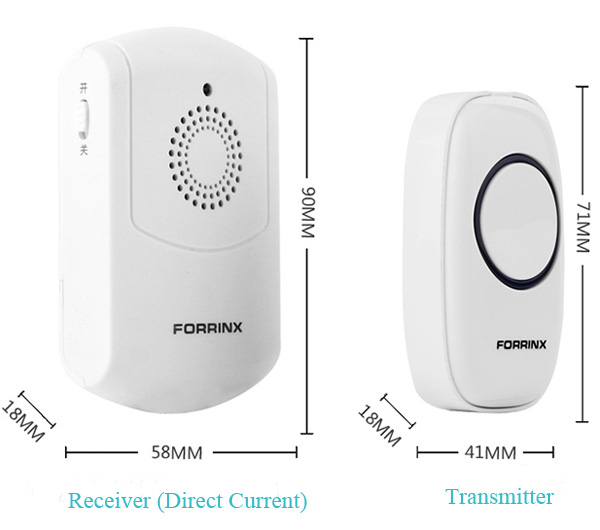Buy Fx M Rc Wireless Vibrating Doorbell For Blind Deaf