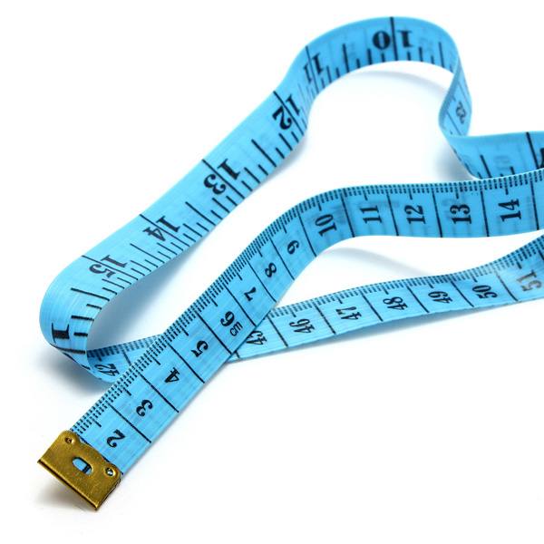 buy fabric body sewing tailor soft flat measure measuring tape ruler. Black Bedroom Furniture Sets. Home Design Ideas