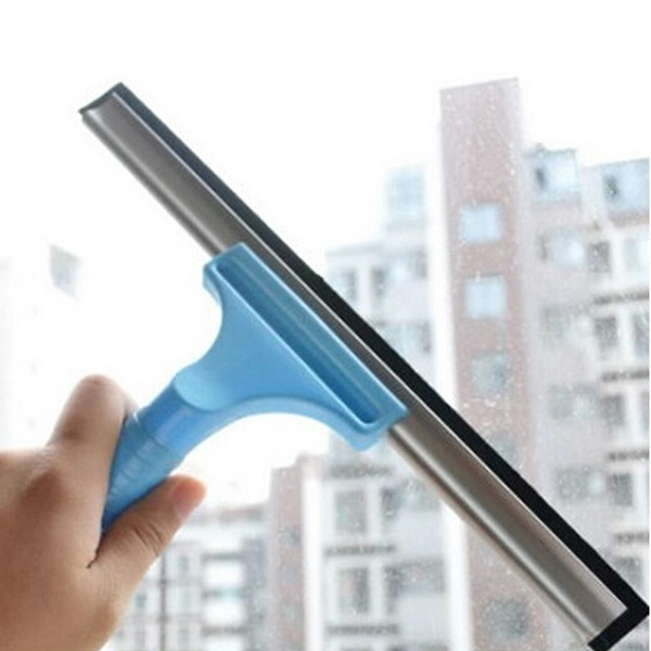 Car Wash Brush >> Buy Plastic Glass Window Cleaner Squeegee Wiper Car Wash Brush Cleaning Tool | BazaarGadgets.com