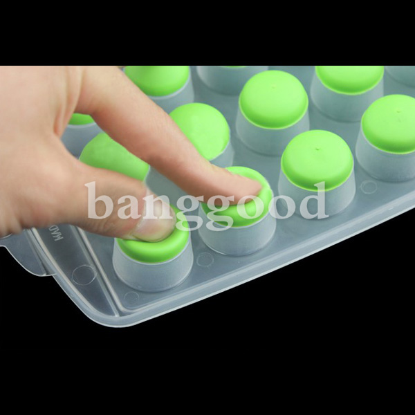 Buy 21 Round Cell Ice Tray Cake Mold Silicone Ice Block