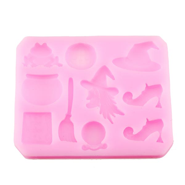 Buy Magic Halloween Fondant Molds Silicone Chocolate Cake ...