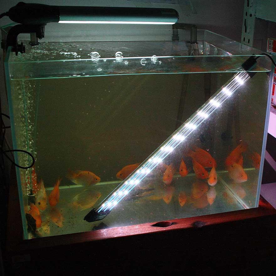 Buy aquasyncro 90cm fish tank submersible aquarium led for Led fish tank light