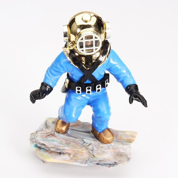 Fish tank diver ornament 100 images diver skeleton on for Aquarium scuba diver decoration
