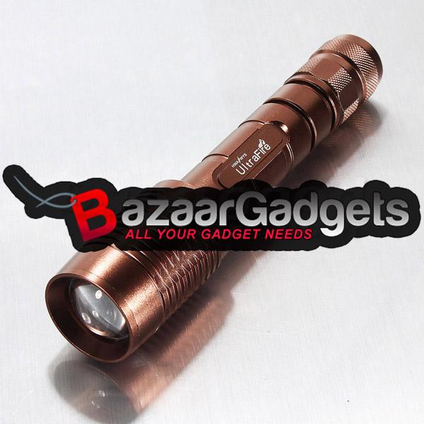 K 246 P Ultra Cree Xml T6 12w 1600lm Zoombar Led Ficklampa