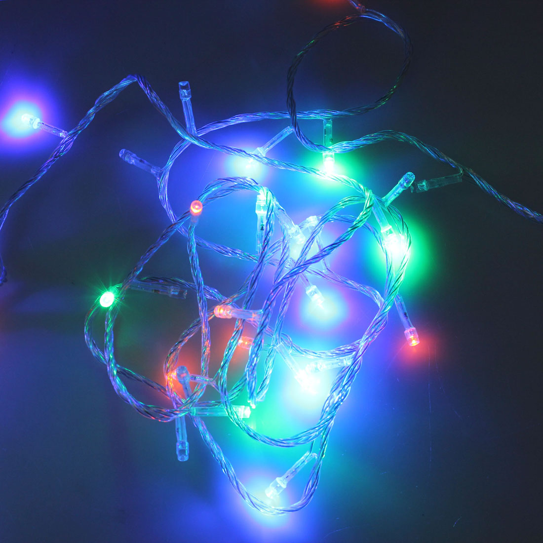 Buy 100 Led 10m Multicolour String Decoration Light For