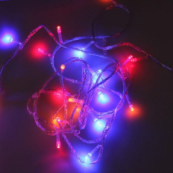 Buy 100 LED 10m Multicolour String Decoration Light for Christmas 110v BazaarGadgets.com