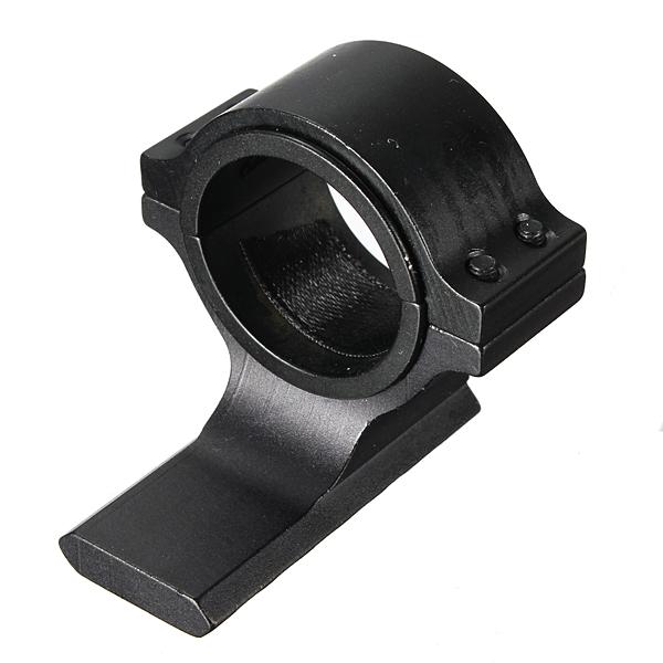 Buy mm ring scope flashlight laser tube picatinny rail