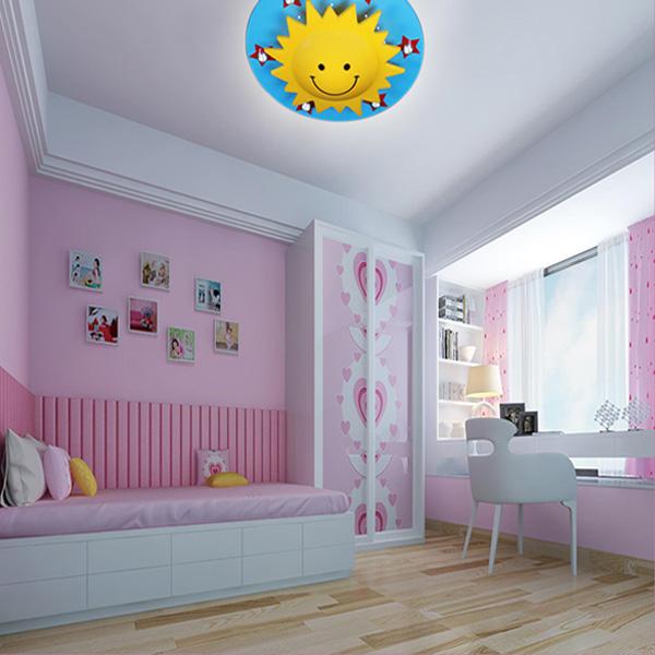 Köp Kreativ Sön Barn Sovrum Tecknad TakLampa 220V BazaarGadgets com