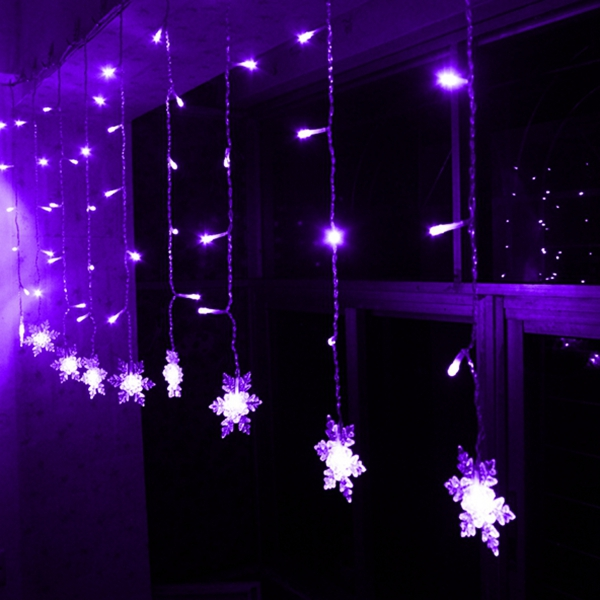 Christmas Tree Curtain Lights