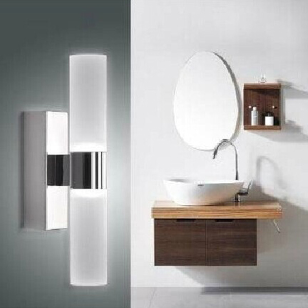 Buy 10w Brief Tube Stainless Steel Led Wall Light Bathroom