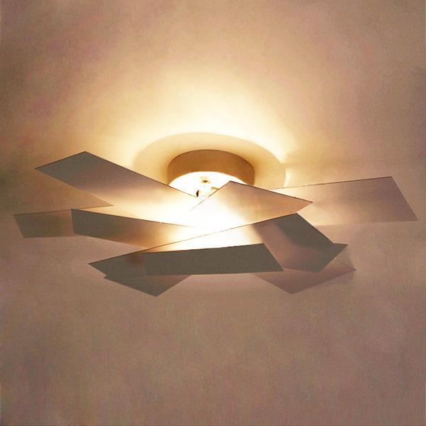 k b 350mm hvid foscarini big bang v glampe sconces loftlampe lys. Black Bedroom Furniture Sets. Home Design Ideas