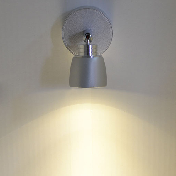 Led Wall Lamp With Switch : Buy 3W LED Aluminum Wall Lamp With Switch For Indoor Bedside Corridor BazaarGadgets.com