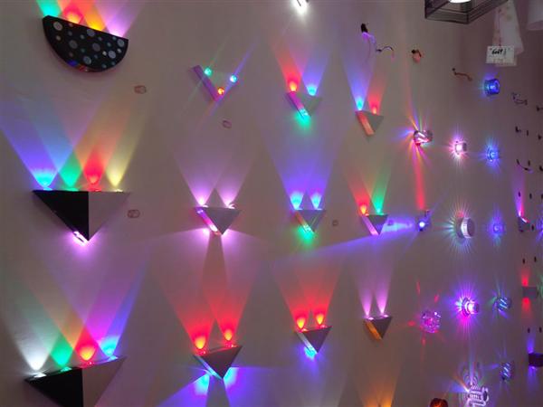 g nstig kaufen 5w led wandleuchte beleuchtung fixture bunte dekorative beleuchtung online. Black Bedroom Furniture Sets. Home Design Ideas