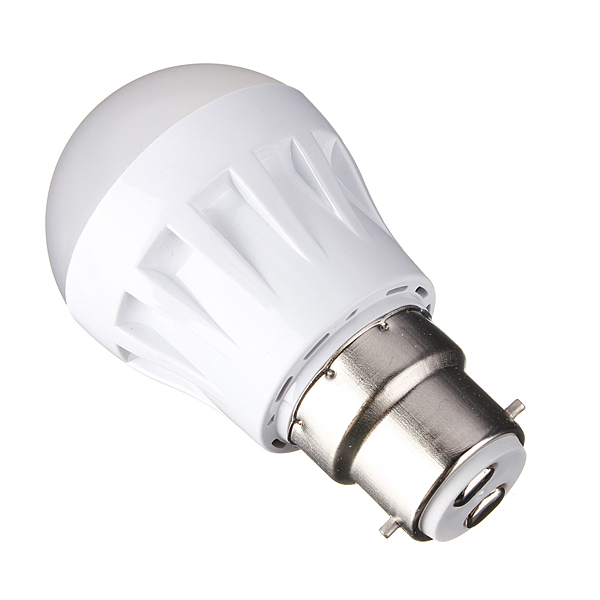 Buy B22 3w 9led 3014 Smd Globe Bulb Light Lamp White Warm