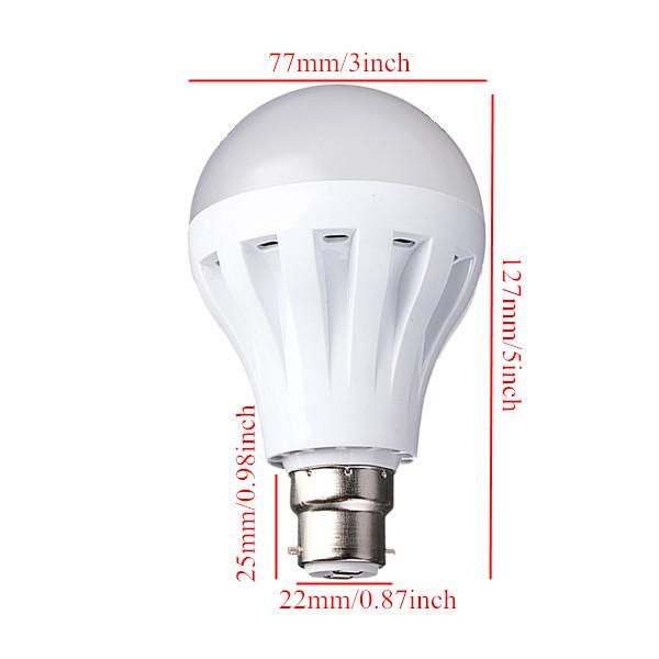 Buy B22 9w 30led 3014 Smd Globe Bulb Light Lamp White Warm