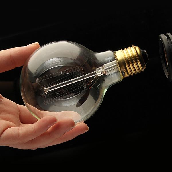 Buy G80 Led Filament E27 40w Bulb Online: Buy E27 40W Vintage Antique Edison Incandescent Bulb G80