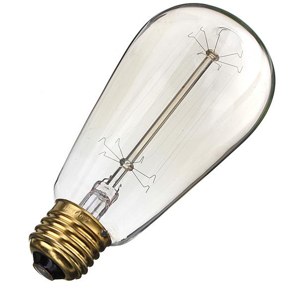 Edison Bulb Floor Lamp Canada: Buy E27 40W Vintage Antique Edison Incandescent Bulb ST64