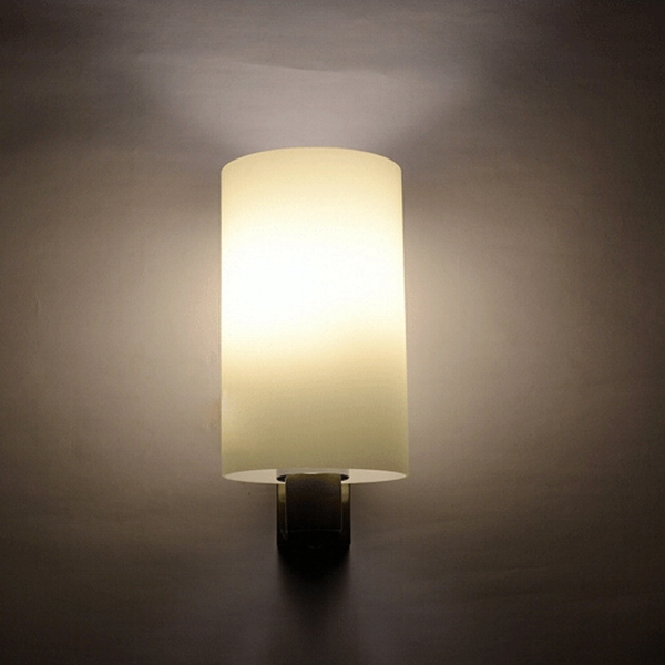 Jeff Wall Light Bulb Room : Buy Fashion Modern Glass Wall Light Aisle Bedroom Living Room Lamp BazaarGadgets.com