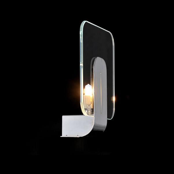 Kob Moderne Brief Glas LED V u00e6glampe Stue Sengelampe Belysning BazaarGadgets com