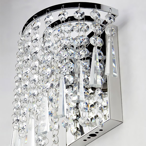 Kob Moderne Krystal Lysekrone V u00e6glampe Belysningsarmatur 220V BazaarGadgets com