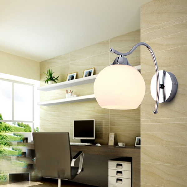K p modern enkla runda wall light f r sovrum vardagsrum for Modern living room gadgets