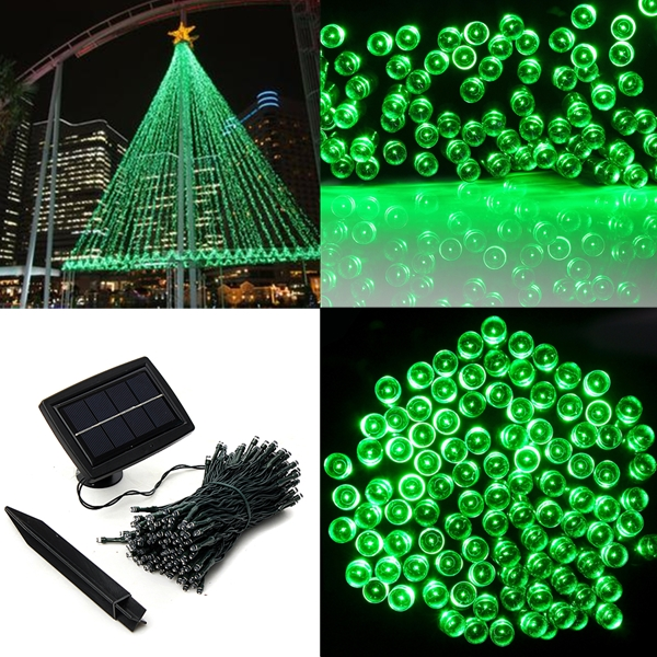 buy 200 led solar powered fairy string light garden party decor xmas