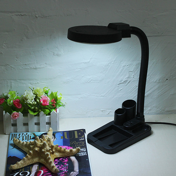 Buy 40 led lighting magnifying glass desk lamp with 5x for 10 x 40 window