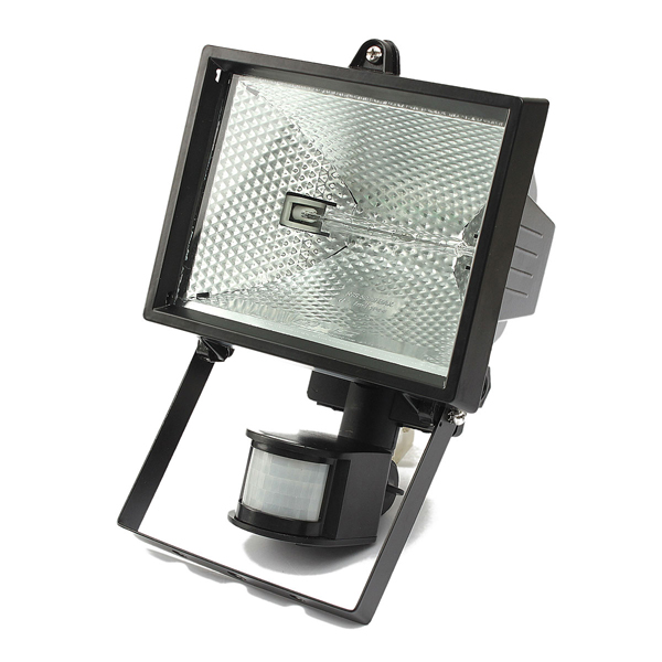 Outdoor Security Lights Nz: Buy 500W Motion PIR Sensor Halogen Floodlight Security