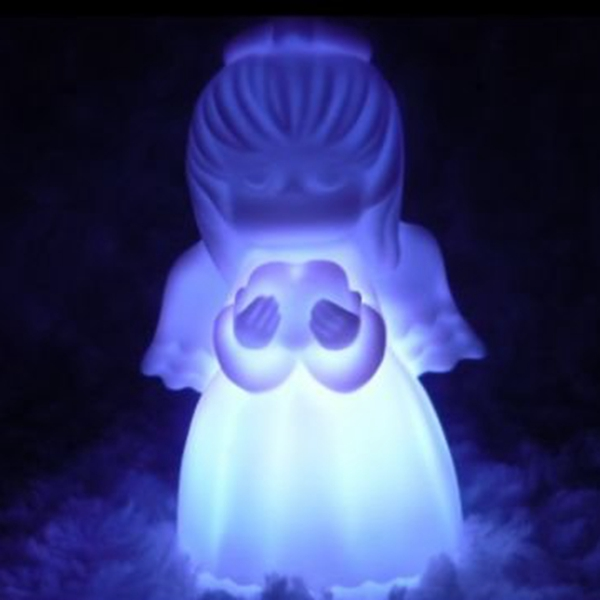 Buy 7 Color Changing LED Cute Angel Night Light Decoration